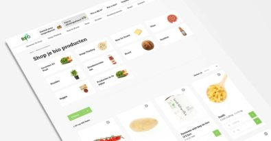 BEO Markt product category UX solution