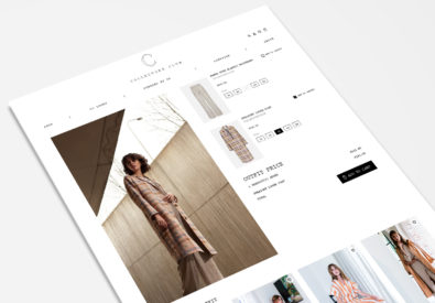 A Suivre en Collectors Club magento 2 fashion webshop design