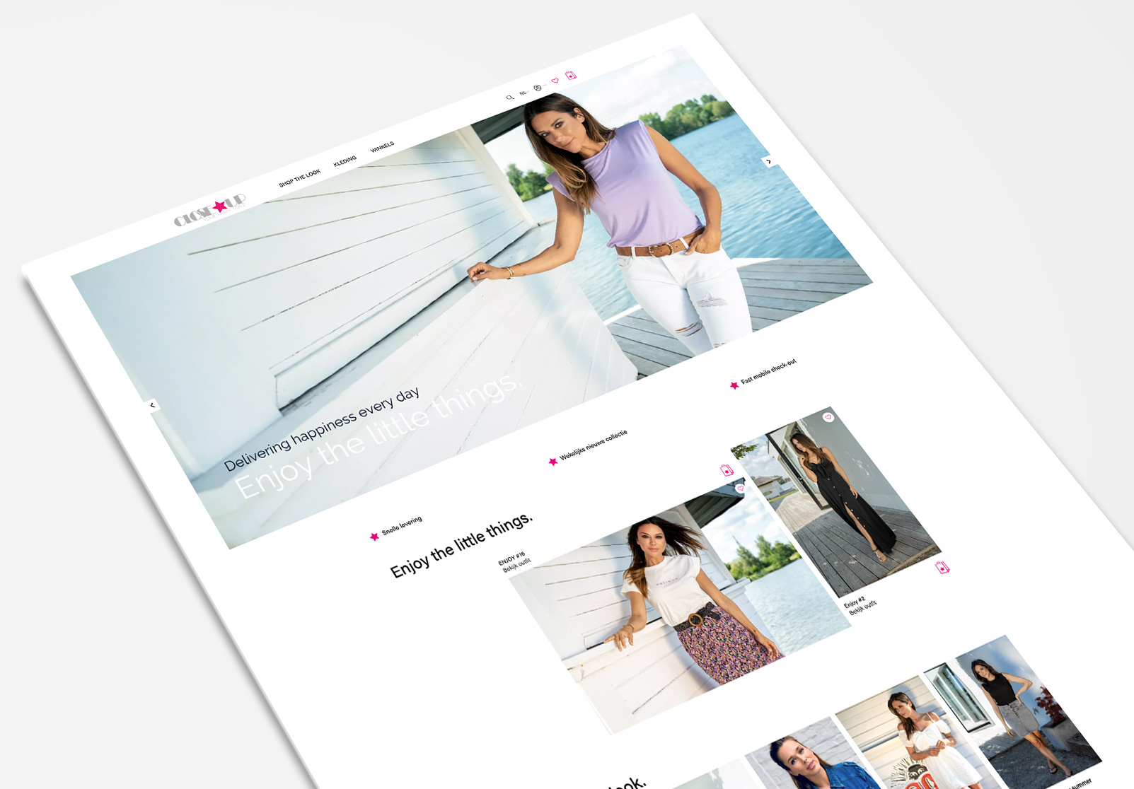 Close-Up Webshop
