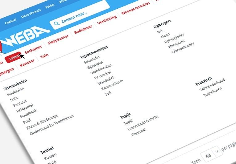 weba menu 2