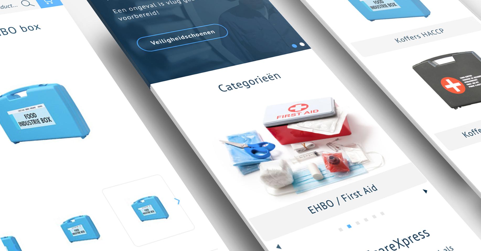 EcareXpress medical Magento 2 webshop