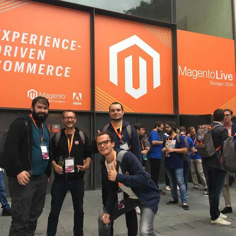 Baldwin at Meet Magento event