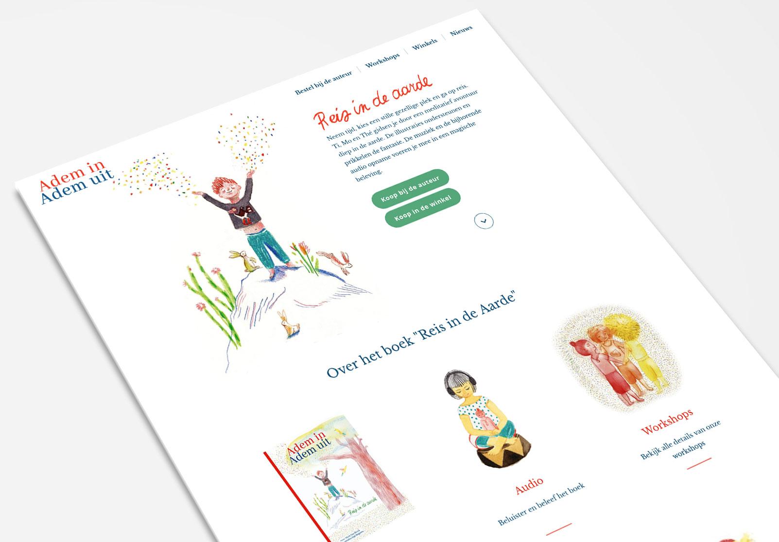 Adem in Adem uit - meditatieve kinderboeken