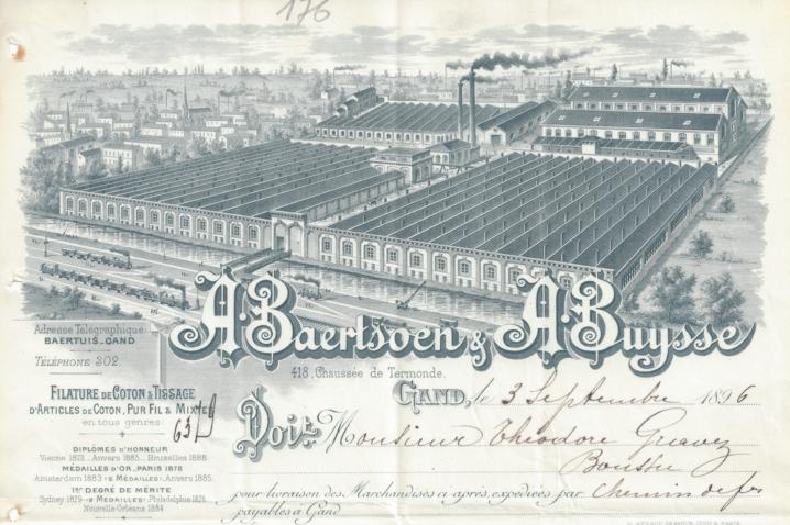 Baldwin kantoor Gent - geschiedenis van het gebouw