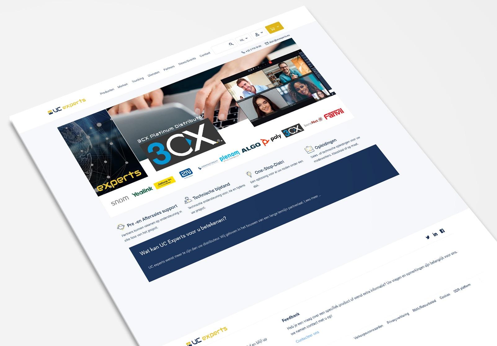 distributeur webshop