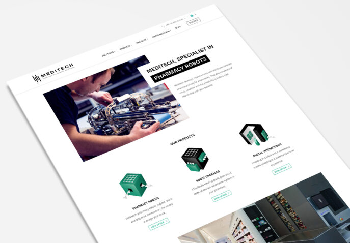 WordPress site Meditech